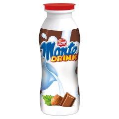 Zott Monte Drink Napój mleczny z czekoladą i orzechami laskowymi 200 ml