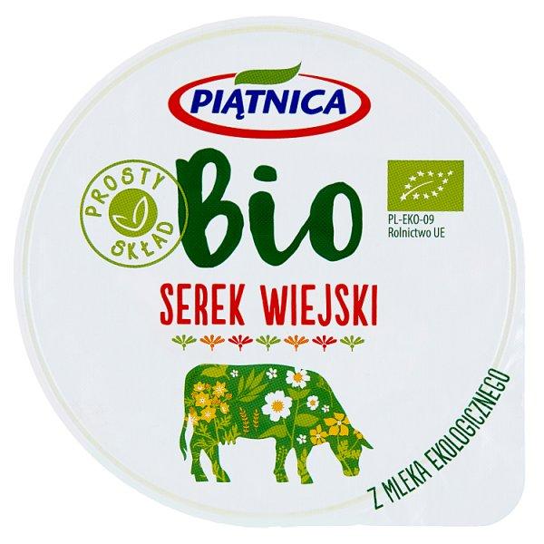 Piątnica Bio Serek wiejski 200 g