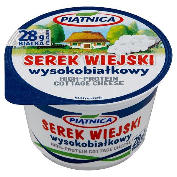 Piątnica Serek wiejski wysokobiałkowy 200 g