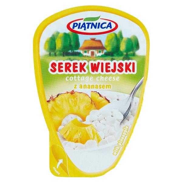 Piątnica Serek wiejski z ananasem 150 g