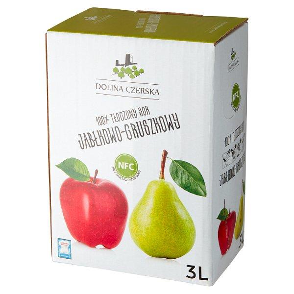 Dolina Czerska 100% tłoczony sok jabłkowo-gruszkowy 3 l