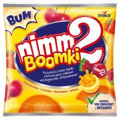 nimm2 Boomki Rozpuszczalne cukierki owocowe wzbogacone witaminami 90 g