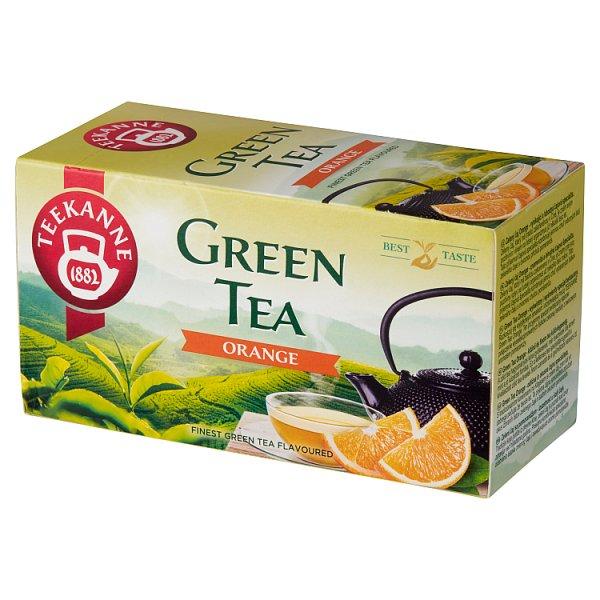 Teekanne Green Tea Orange Aromatyzowana herbata zielona 35 g (20 x 1,75 g)
