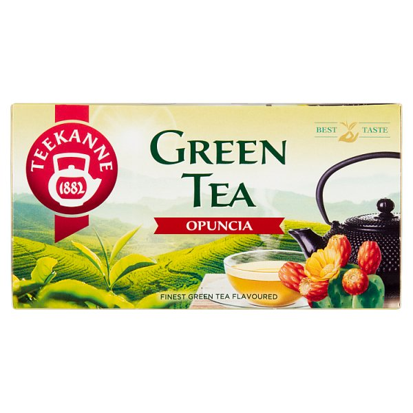 Teekanne Green Tea Opuncia Aromatyzowana herbata zielona 35 g (20 x 1,75 g)