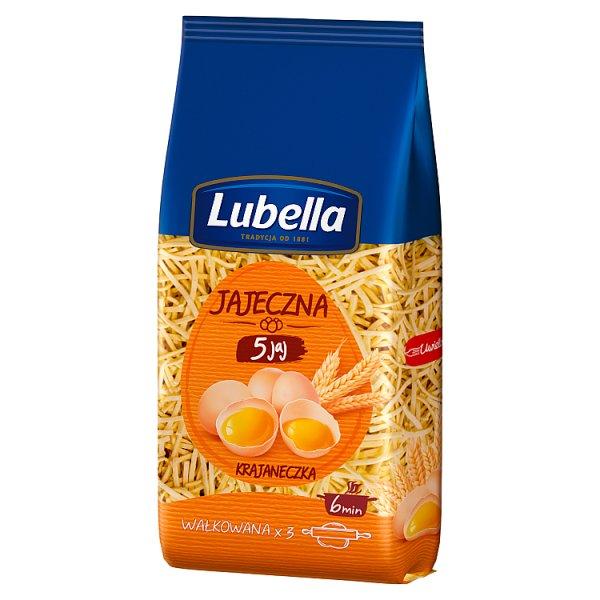 Lubella Jajeczna 5 jaj Makaron krajaneczka 200 g