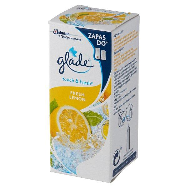 Glade Touch & Fresh Fresh Lemon Zapas do odświeżacza powietrza 10 ml
