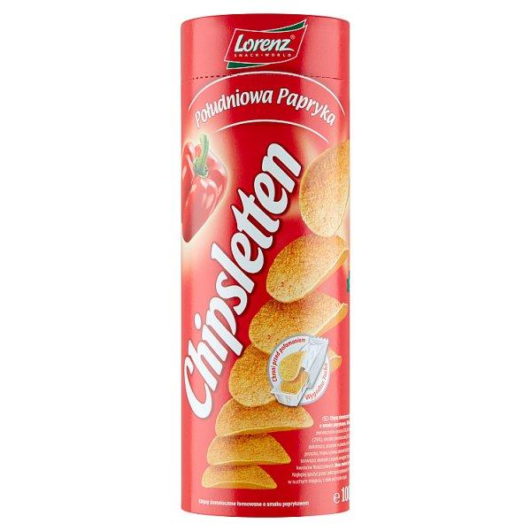 Chipsletten Chipsy ziemniaczane południowa papryka 100 g