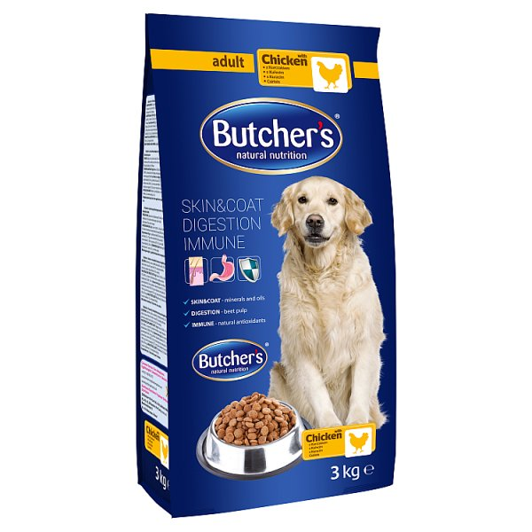 Butcher's Karma dla dorosłych psów z kurczakiem 3 kg