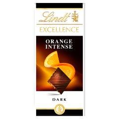 Lindt Excellence Czekolada ciemna z pomarańczą i migdałem 100 g