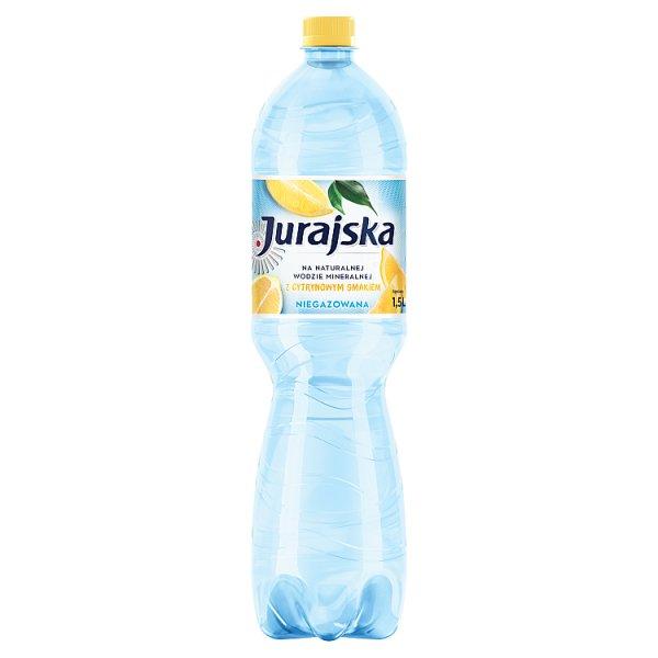 Jurajska Napój niegazowany z cytrynowym smakiem 1,5 l