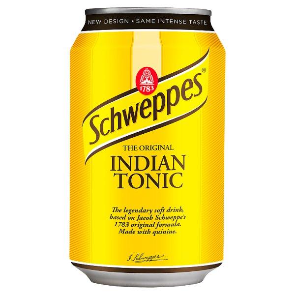Schweppes Indian Tonic Napój gazowany 330 ml