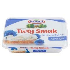 Piątnica Twój Smak Serek śmietankowy naturalny 135 g