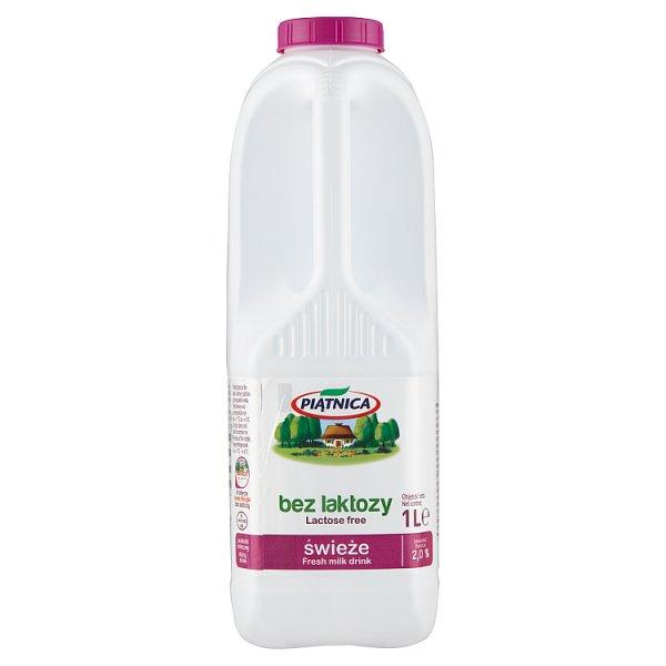 Piątnica Produkt mleczny bez laktozy 2,0% 1 l
