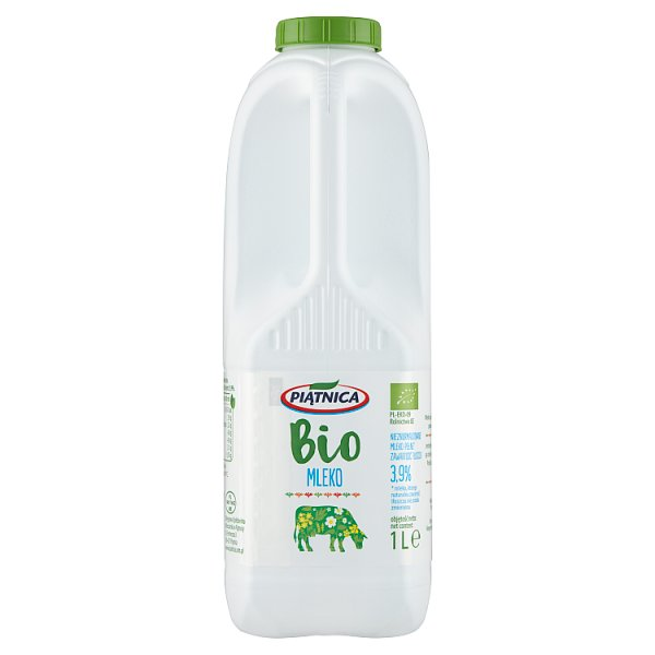 Piątnica Bio Mleko 3,9% 1 l