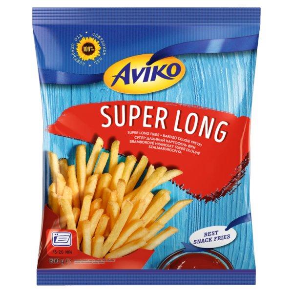 Aviko Super Long Bardzo długie frytki 600 g