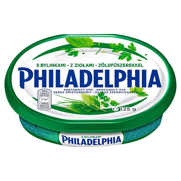 Philadelphia Serek śmietankowy z ziołami 125 g
