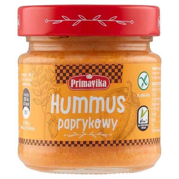 Primavika Hummus paprykowy 160 g