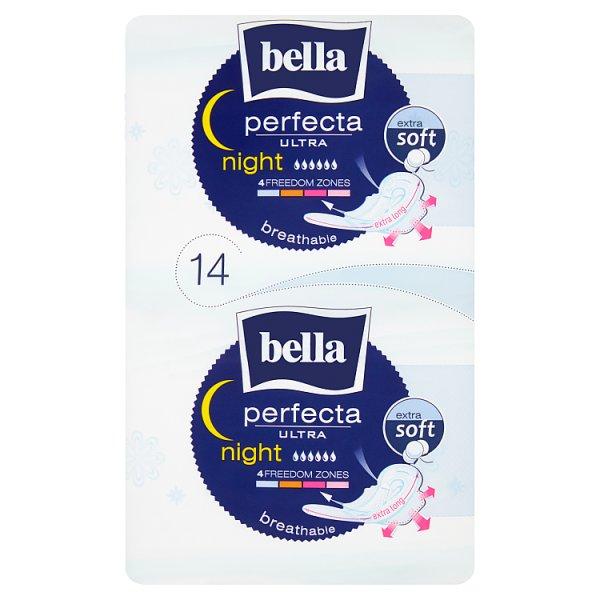 Bella Perfecta Ultra Night Extra Soft Podpaski higieniczne 14 sztuk