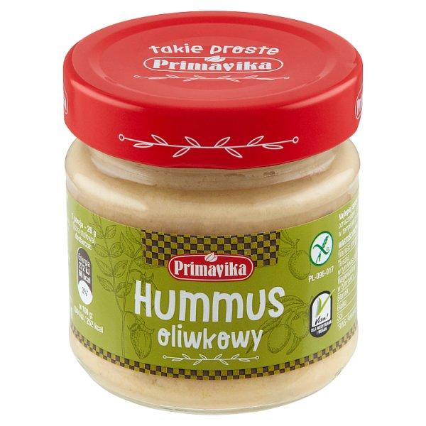 Primavika Hummus oliwkowy 160 g