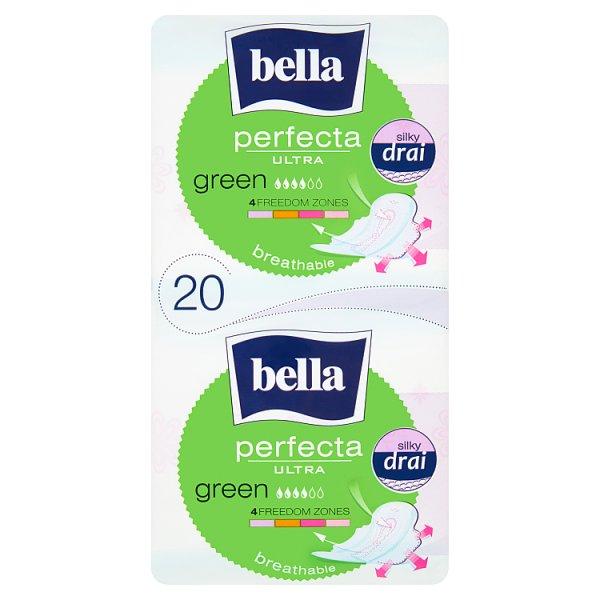 Bella Perfecta Ultra Green Podpaski higieniczne 20 sztuk