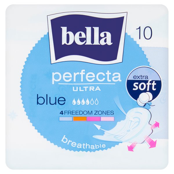 Bella Perfecta Ultra Blue Podpaski higieniczne 10 sztuk