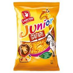 Lajkonik Junior Safari Drobne pieczywo o smaku waniliowym 125 g