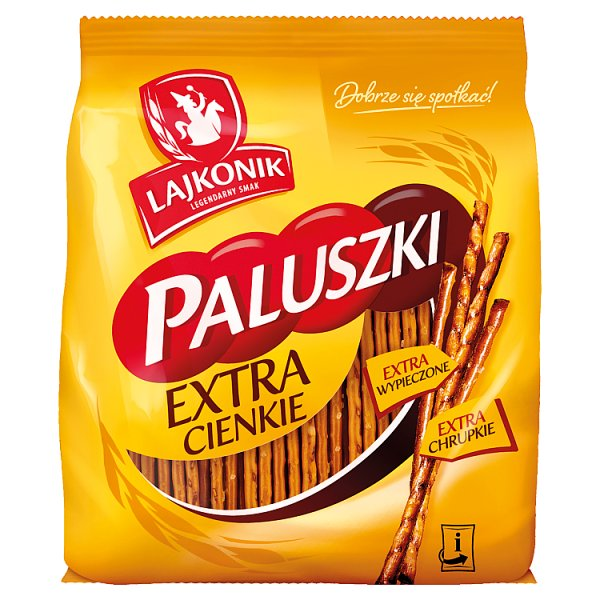 Lajkonik Paluszki extra cienkie 180 g