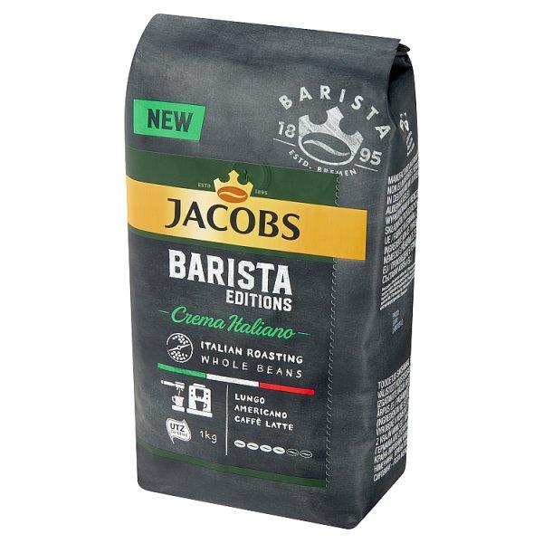 Jacobs Barista Editions Crema Italiano Kawa ziarnista palona 1 kg