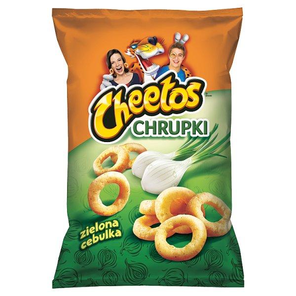 Cheetos Chrupki kukurydziane o smaku zielonej cebulki 145 g