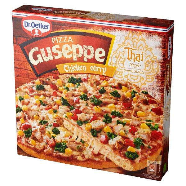 Dr. Oetker Guseppe Smaki Świata Pizza Chicken curry 375 g