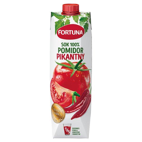 Fortuna Sok 100% pomidor pikantny 1 l