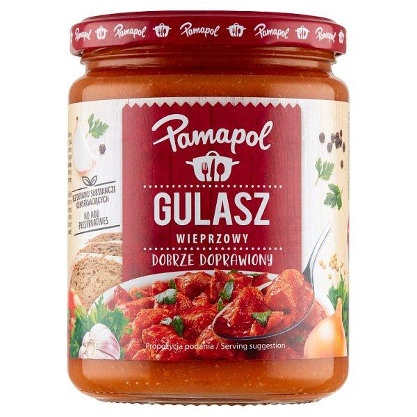 Pamapol Gulasz wieprzowy 500 g