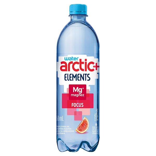Arctic+ Elements Focus Napój niegazowany o smaku grejpfruta wzbogacony magnezem 750 ml