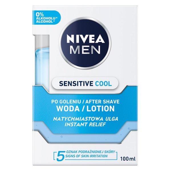 NIVEA MEN Sensitive Chłodząca woda po goleniu 100 ml