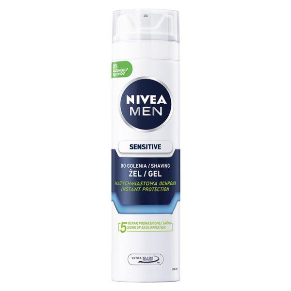 NIVEA MEN Sensitive Żel do golenia 200 ml