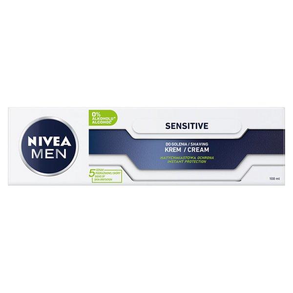 NIVEA MEN Sensitive Łagodzący krem do golenia 100 ml