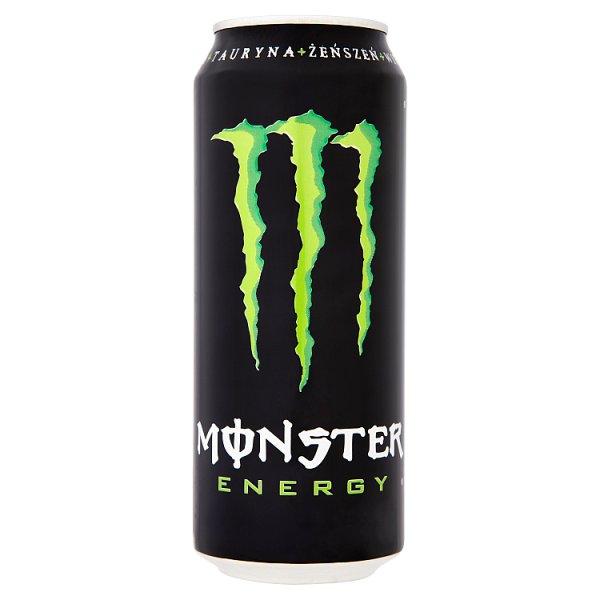 Monster Energy Gazowany napój energetyzujący 500 ml