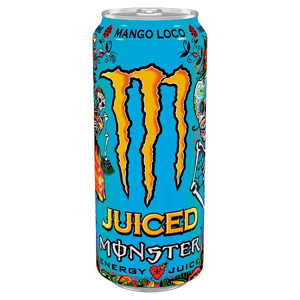 Monster Energy Mango Loco Gazowany napój energetyczny 500 ml