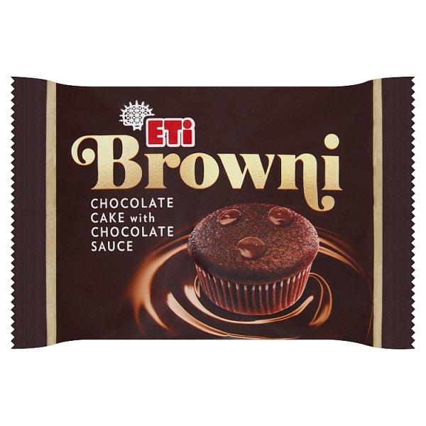 Eti Browni Babeczka z czekoladą i nadzieniem czekoladowym 45 g