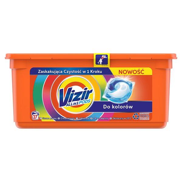 Vizir Allin1 Color Kapsułki do prania, 27prań