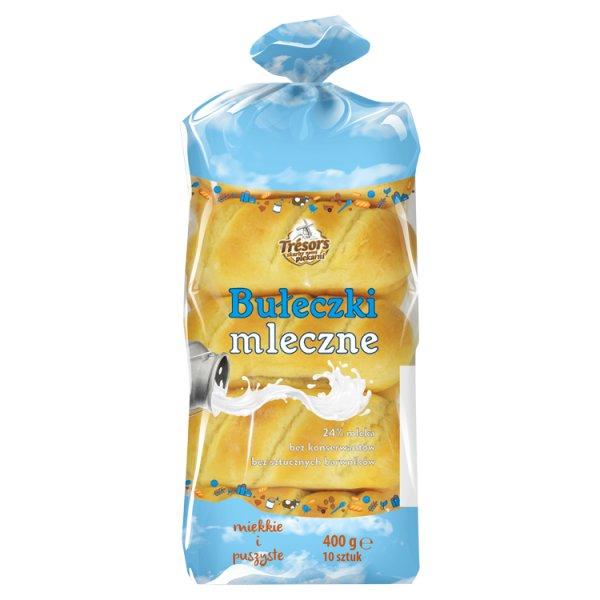 Trésors Bułeczki mleczne 400 g (10 sztuk)