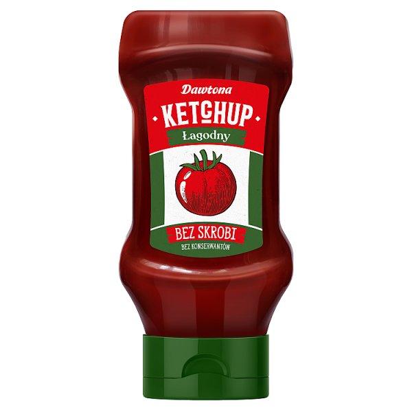 Dawtona Ketchup łagodny 450 g