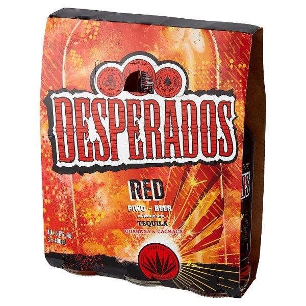 Desperados Red Piwo Aromatyzowane 3 X 400 Ml 1 Szt 1 200 Litr Zywiec Supermarket Internetowy Spar Dawniej Piotr I Pawel