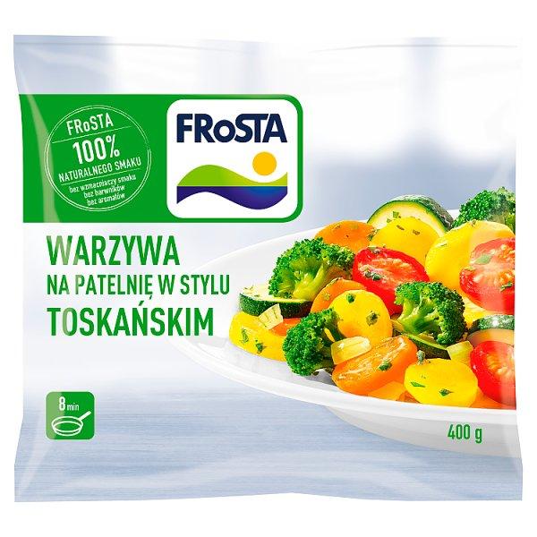 FRoSTA Warzywa na patelnię w stylu toskańskim 400 g