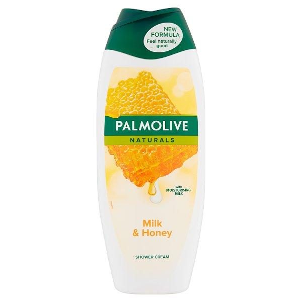 Palmolive Naturals Milk & Honey Kremowy żel pod prysznic 500 ml
