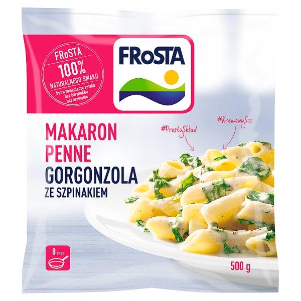 FRoSTA Makaron penne Gorgonzola ze szpinakiem 500 g