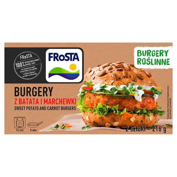 FRoSTA Burgery z batata i marchewki 216 g (2 sztuki)