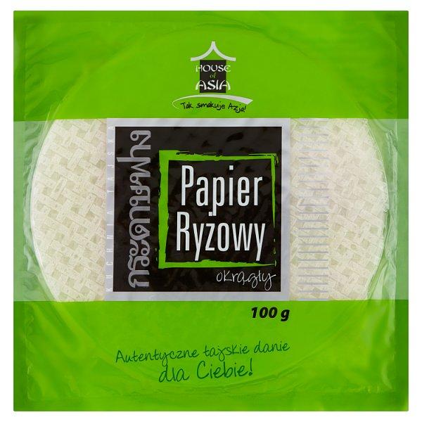 House of Asia Papier ryżowy okrągły 100 g