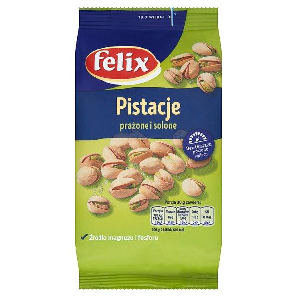 Felix Pistacje prażone i solone 240 g