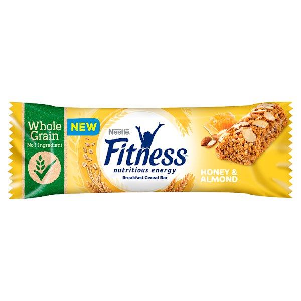 Nestlé Fitness Honey & Almond Batonik zbożowy 23,5 g